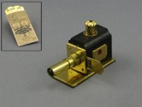 Dollhouse Scale Model Replica Magic Lantern and Slides