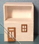 Miniature Girls Bedroom Night Stand Kit for Dollhouses