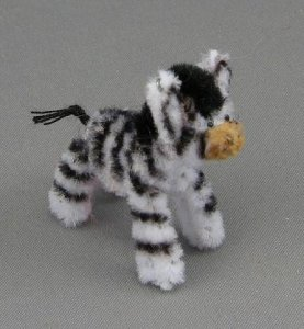 Dollhouse Miniature Exotic Animals