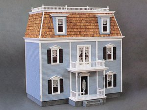 Real Good Toys 2201, Front-Opening Federal Dollhouse Kit