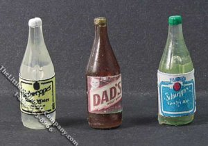 Miniature Bottle of Soda Pop for Dollhouses (1/pk)