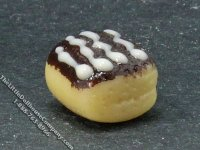 Miniature Chocolate Pastry for Dollhouses