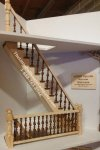Laser Cut Straight Spindle Staircase Kit#2 For Dollhouses