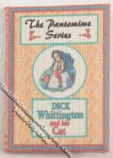 Miniature book: Dick Whittington and his Cat