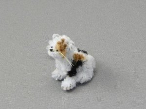 Dollhouse Scale Model Cat