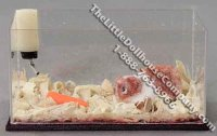 Miniature Guinea Pig in Aquarium by Alice Zinn for Dollhouses