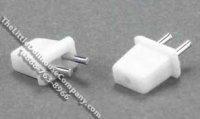 Dollhouse 1/2 Scale Model Petite Wall Plugs Without Wire, 4/pack