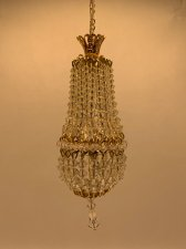 Dollhouse Scale Small Daphne Chandelier