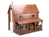 All Wood Dollhouse Kits