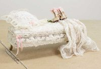 Miniature Dressed Foot Bed by Danielle Designs