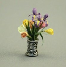 "1/2"" Scale Iris and Tulips"