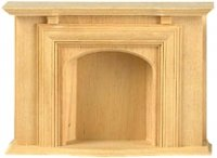Jamestown Fireplace for Dollhouses