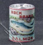 Miniature Canned Salmon for Dollhouses