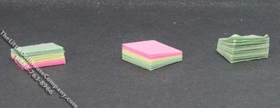 Miniature Sticky Note Pad for Dollhouses (1/pk)