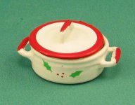 Christmas Mini Pot with Lid