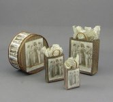 Dollhouse Miniature Shopping Bags by Judith Blondell