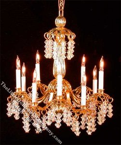 Miniature Princess Pat Chandelier