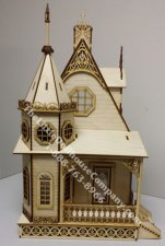 Half Scale Jasmine Gothic Victorian Cottage Laser Cut Kit