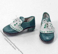Miniature Ladies Golf Shoes by Judith Blondell for Dollhouses