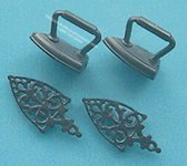 Miniature Trivets & Irons For Dollhouses