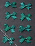 Miniature Green Bows for Dollhouses (8/pk)