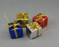 Miniature Christmas Present for Dollhouses (1/pk)