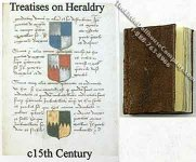 Dollhouse Miniature Treatises on Heraldry Book