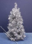 Miniature Silver Christmas Tree for Dollhouses