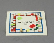 Miniature Monopoly Board Game Set