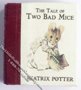 Miniature Book: Beatrix Potter's 'The Tale of Two Bad Mice'