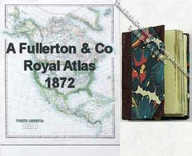 Minature Royal Atlas 1872