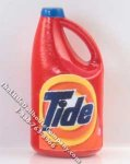 Miniature Replica Bottle of Laundry Detergent for Dollhouses