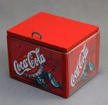 Dollhouse Scale Model Soda Ice Box