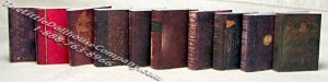 Miniature Reproduction Antique Books for Dollhouses #2