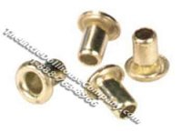 Dollhouse Scale Model Brass Eyelets for Wiring 110/pk