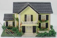 144th Inch Scale Colonial Dollhouse Kit
