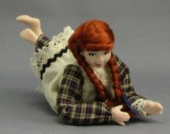Teen Doll on Tummy by Patsy Thomas