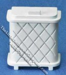 Miniature Dollhouse Clothes Hamper for Dollhouses