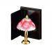 Lamp with Rose Design