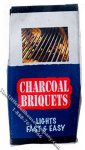 Miniature Bag of Charcoal Briquets for Dollhouses