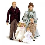Drummond Victorian Doll Family