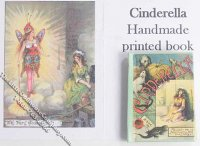 Dollhouse Scale Model Book Cinderella