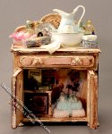 Miniature Pink Commode by Twylla Charles