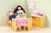Sugarplum Dining Room for Dollhouses