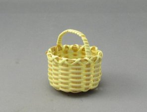 Miniature Round Basket