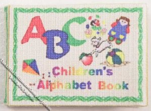 Miniature book: Children's Alphabet Book