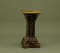 Pedestal - Old Gold Finish