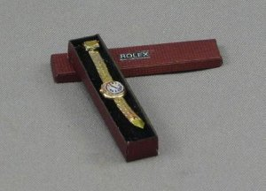 Ladies Gold Watch by Judith Blondell