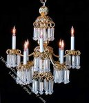 Dollhouse Scale Model Minuet Chandelier