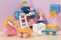 Sugarplum Kid Room for Dollhouses